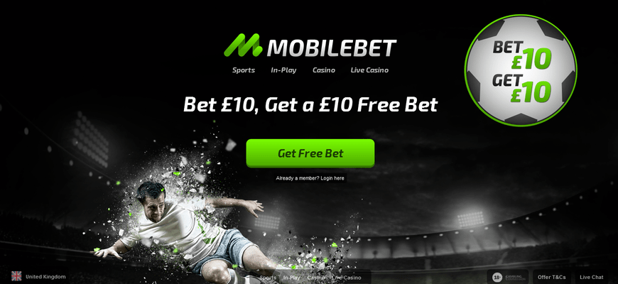 MobileBet Sign Up Bonuses