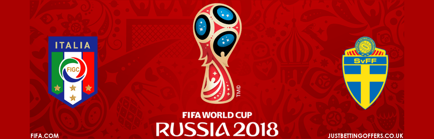 Italy vs Sweden World Cup 2018 Qualification betting tips