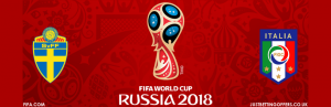 Sweden vs Italy World Cup 2018 betting tips and offers