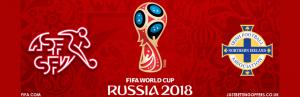 Switzerland vs Northern Ireland 12th Nov 2017