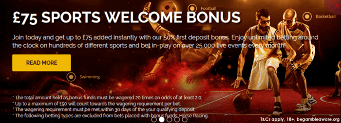 Jetbull sports 50 welcome bonus