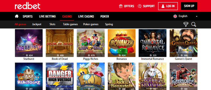redbet casino welcome bonus