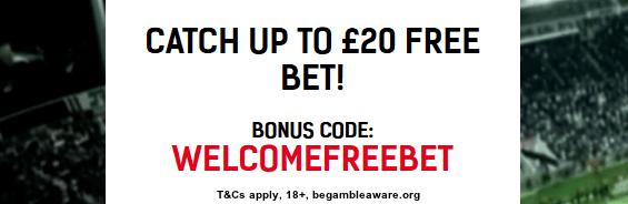 Redbet free bet offer