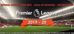 Premier League betting 2019-20